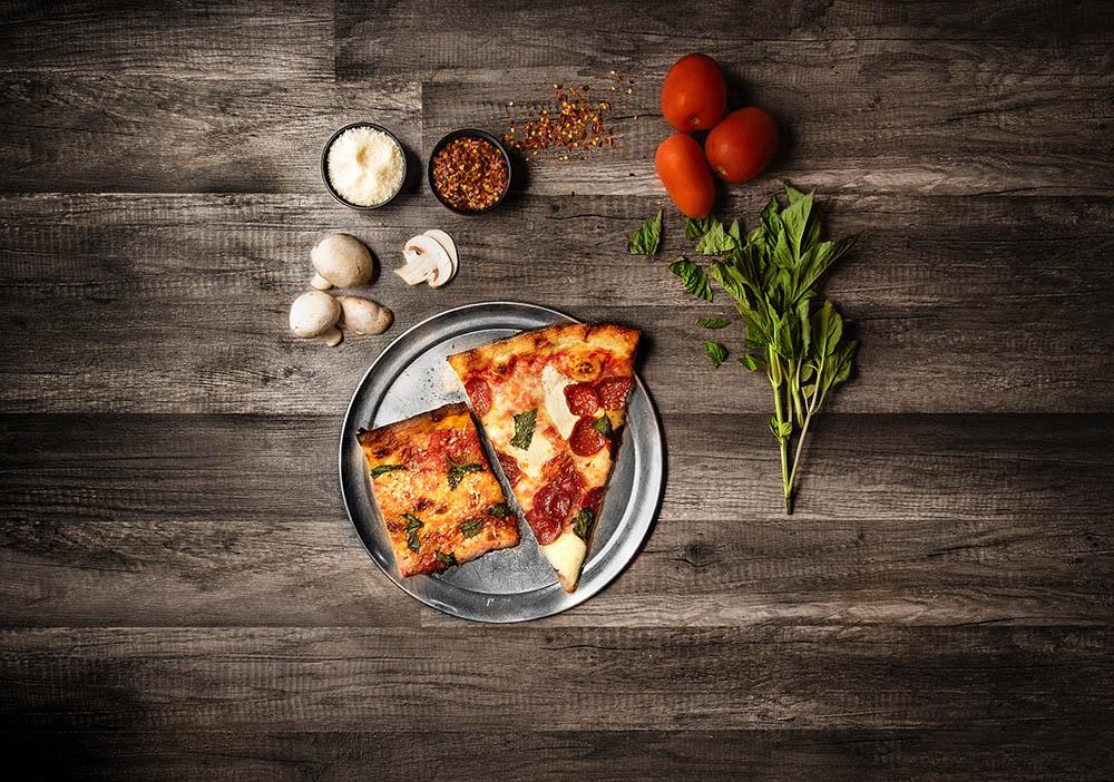Diferencia entre pizza y focaccia