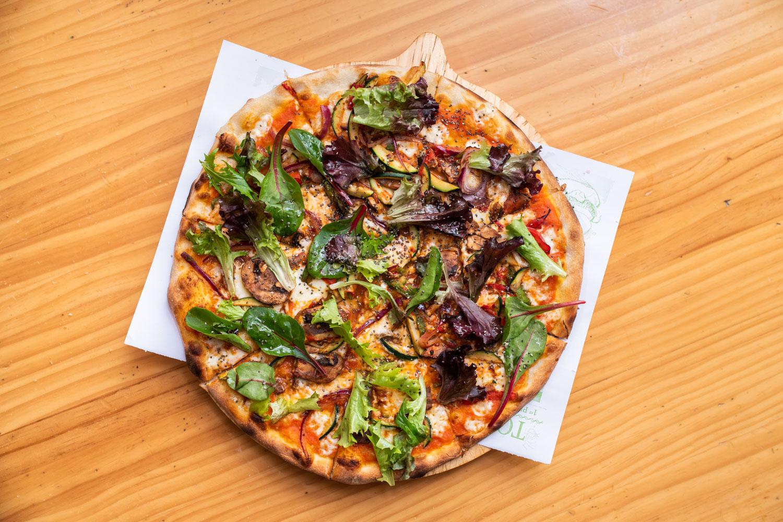 Pizza hortelana