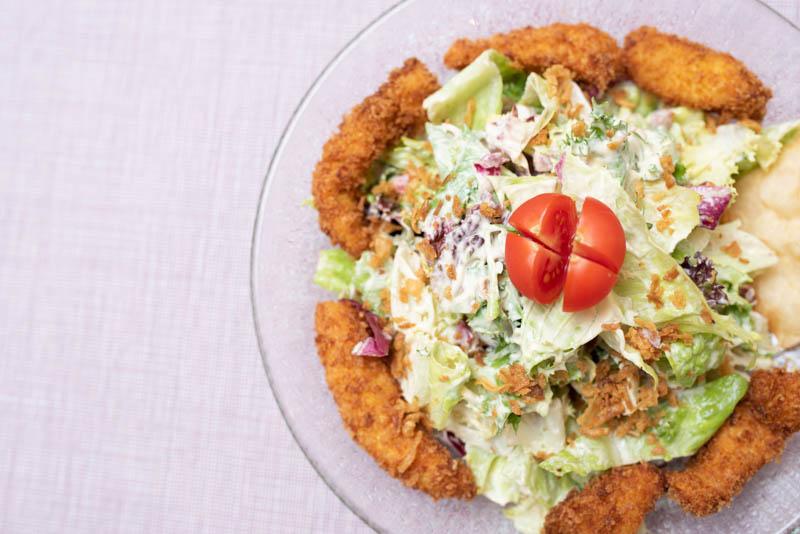 ensalada comes