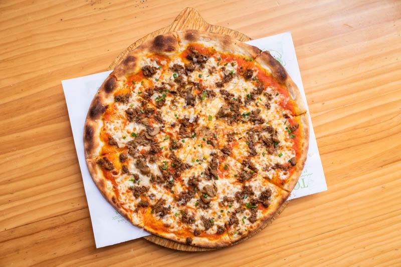 pizza la vita del greco