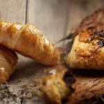 Croissant y napolitana